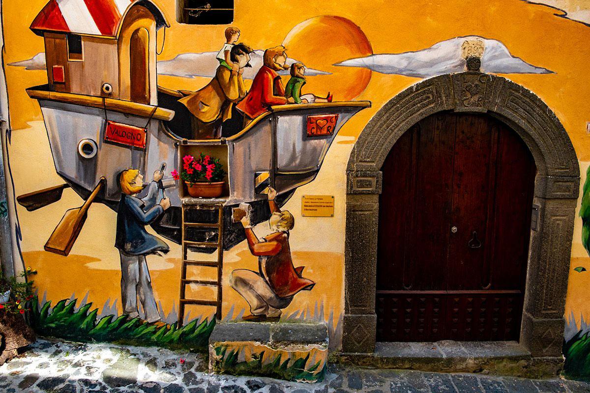 L'ultimo murales della Trilogia dell'Amore