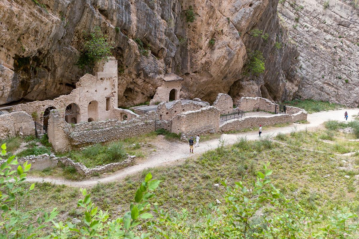 Le Gole e il Monastero di San Martino in Valle